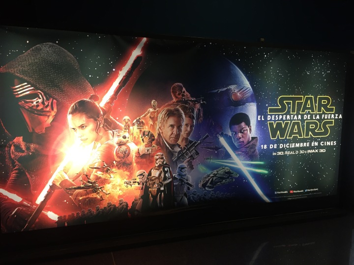 Star Wars The Force Awakens, VO