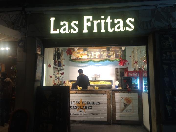 Las Fritas Barceloneta