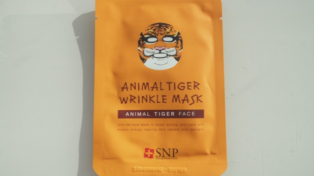 SNP Animal Tiger Wrinkle Sheet Mask