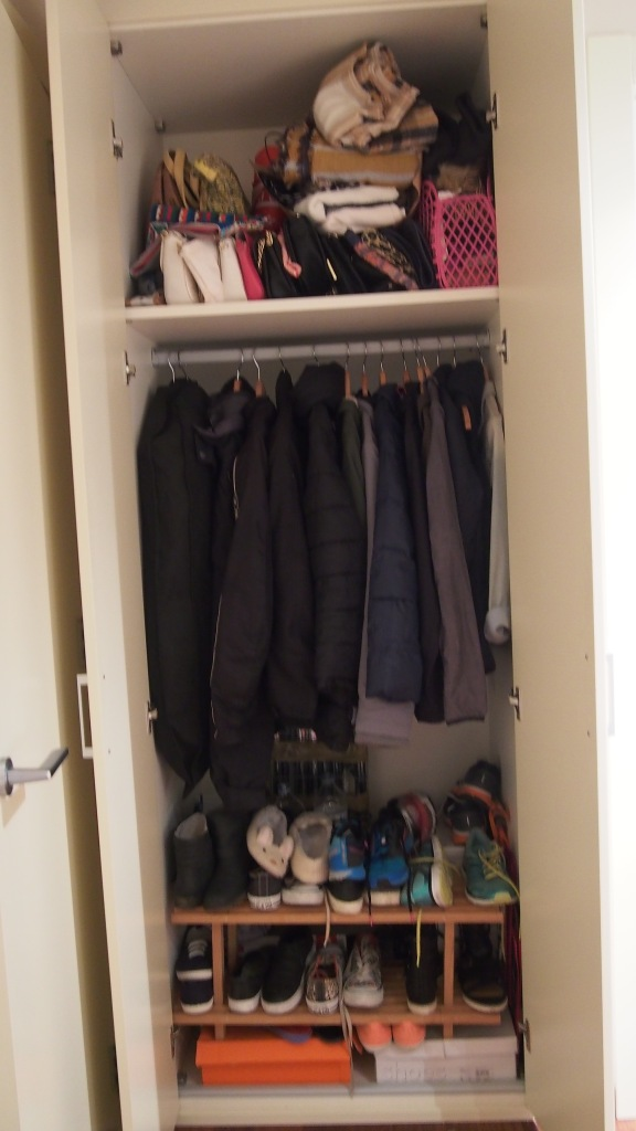 Wardrobe 2 before