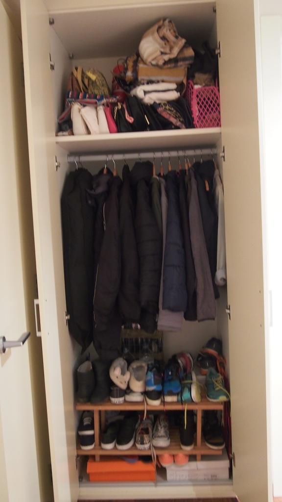 Wardrobe 2 before