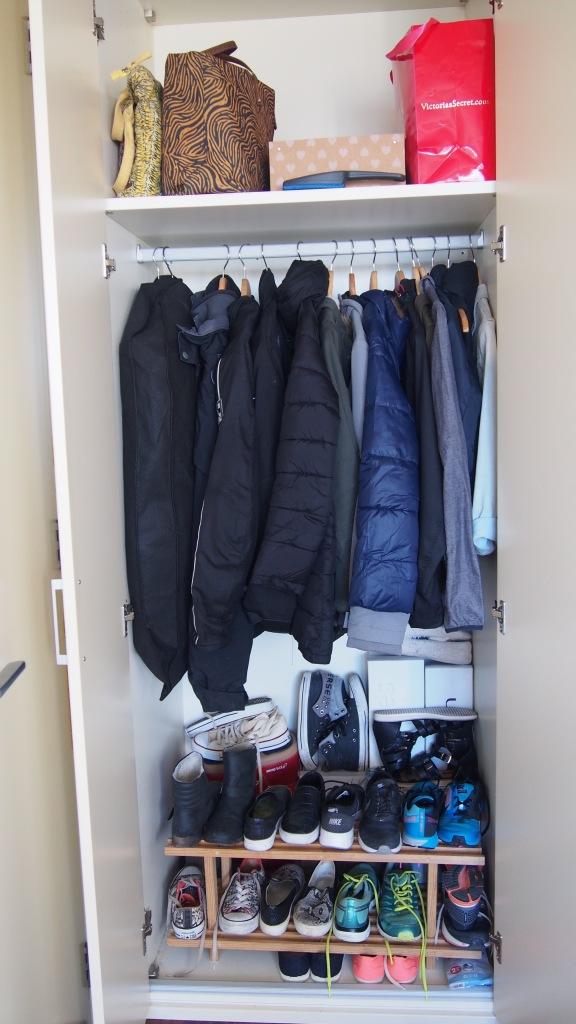 KonMari Method wardrobe 2 afterwards