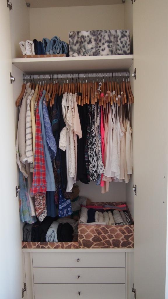KonMari Method Wardrobe 1