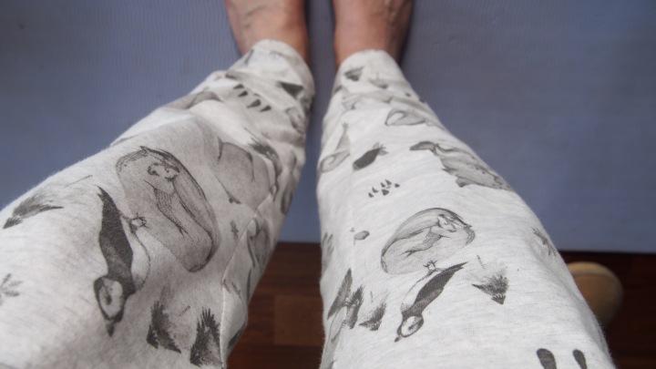 Oysho animal camping pants