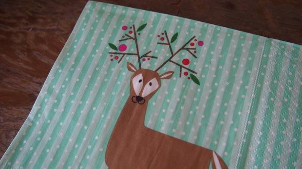 Tiger Stores Reindeer Napkins