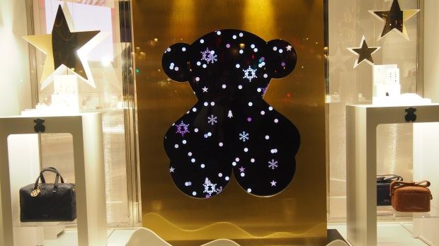 Christmas Tous Bear, Barcelona
