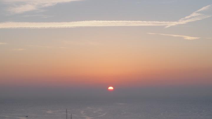 Winter Solstice sun rise