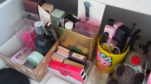 KonMari Method Declutter Skincare and Make Up