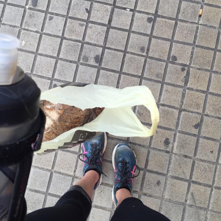 Wednesday run running errands