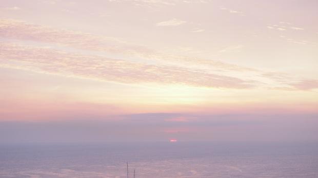 Winter Sunrise over the sea