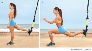 TRX reverse Lunges