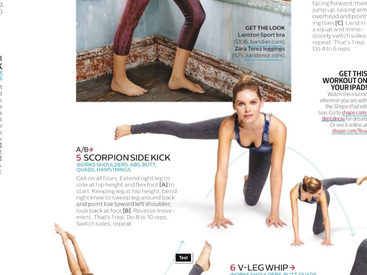 scorpion side kicks Shape Magazine