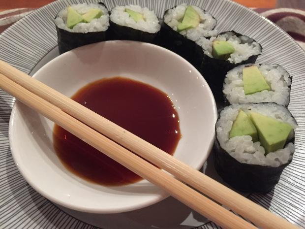 Maki Avocado Sushi