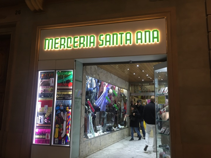 Merceria Santa Ana