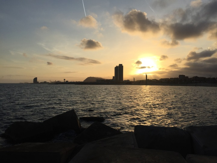 Sunset Poble Nou