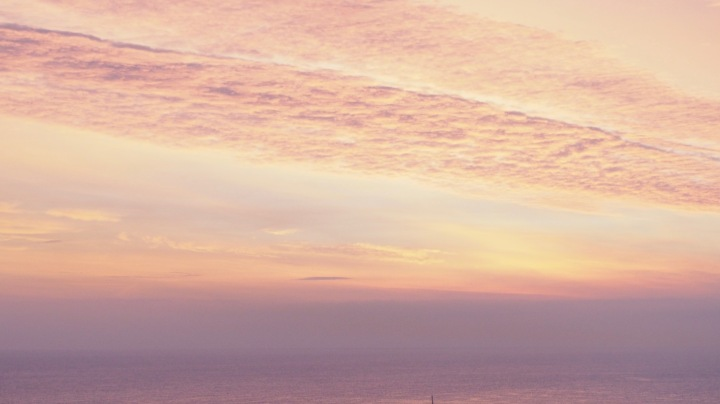 Dawn over the Mediterranean Sea