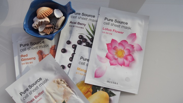 Missha Sheet Masks