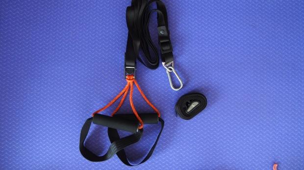 WOSS 3000 Equalizer Suspension Trainer, Black