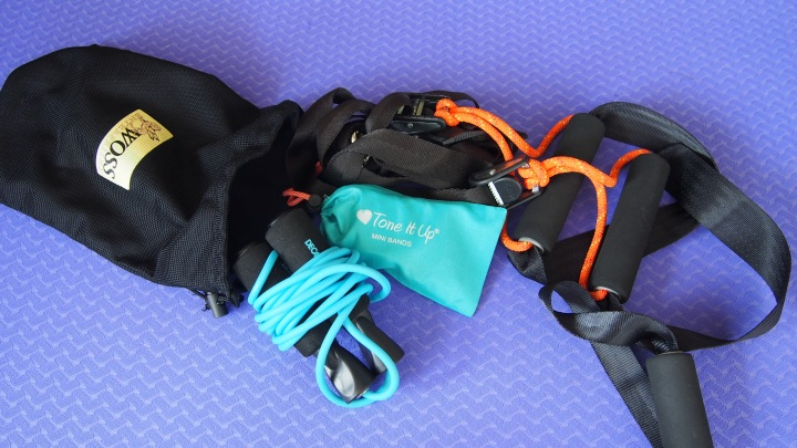 Portable fitness Equipment packing