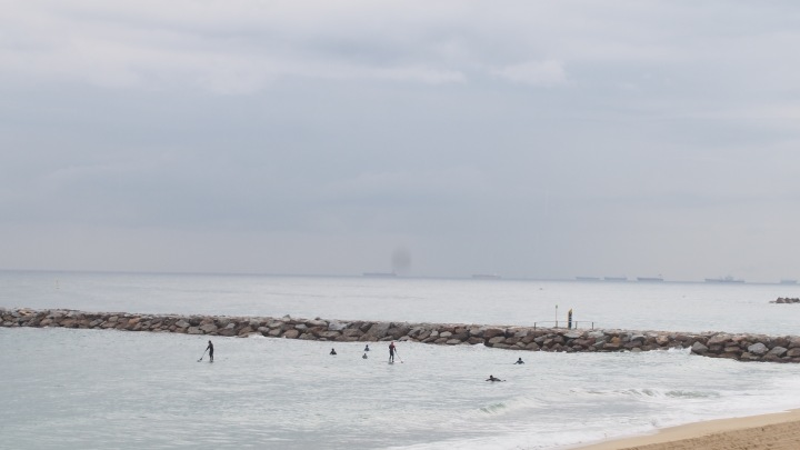 Surfers and SUP Barcelona