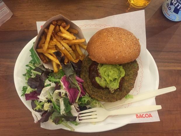 Bacoa Vegan Burger