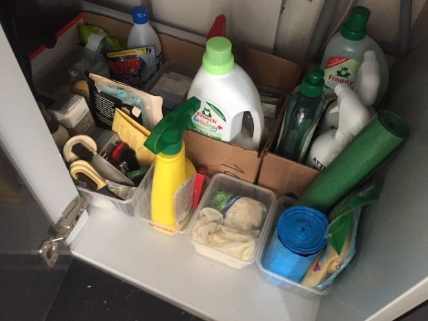 Life changing magic of tidying kitchen cupboards