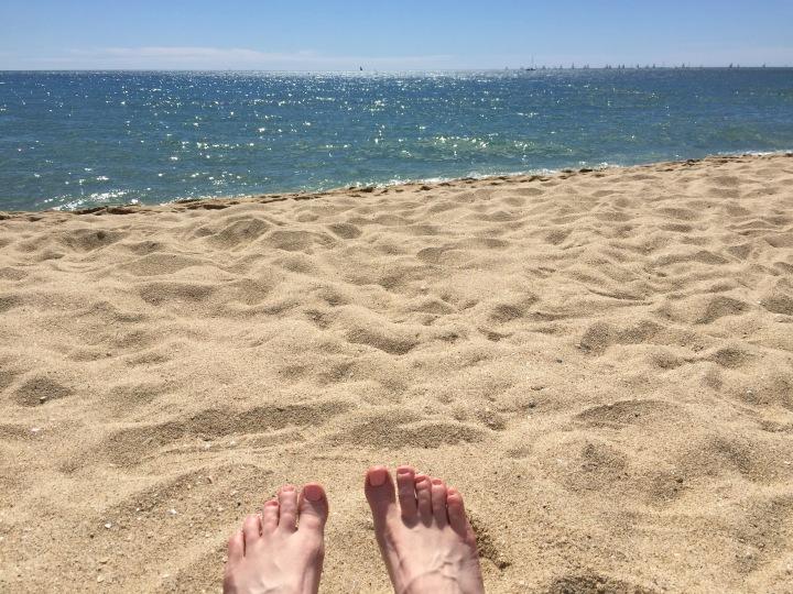 First beach siesta of 2016!