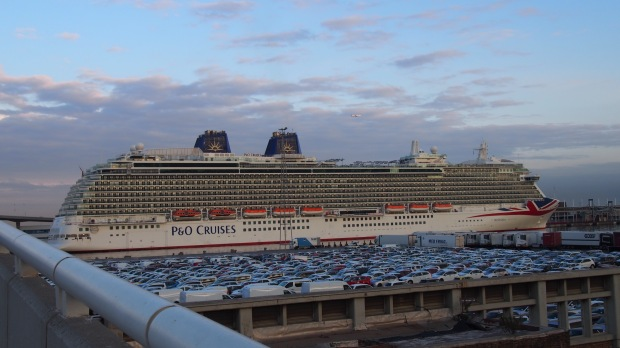 Ant and Dec's Cruise Ship Barcelona
